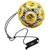 PodiuMax Griff Solo Fußball-Tritt-Trainingsgeräte mit neuem Ball-Locked Design für Tornetz,...