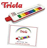 Triola 12 - die beliebte Blasharmonika für Kinder mit 12 Tönen -- im Set mit dem brandneuen...