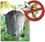 Wespenabwehr ohne Gift - Giftfreie Wespenfalle - Wespenscheuche - Wespen vertreiben - Wespen...