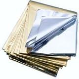 Rettungsdecke Gold/Silber 160x210 cm