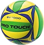 Pro Touch Uni Beach-Volleyball BV-1000 Beachvolleyball, Gelb/Blau/Grün, One Size