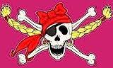 UB Fahne / Flagge Piratenprinzessin II Piratenfahne 90 cm x 150 cm Neuware!!!