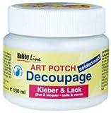 Kreul 48252 - Art Potch Decoupage Kleber und Lack seidenmatt 250 ml
