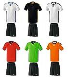Erima Meisterschaft Volleyball Herren Trikot & Shorts Set versch. Farben , Grösse:M;Farben:Weiss...