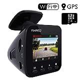AKASO Dashcam Full HD 1296P Autokamera GPS Auto Kamera mit WiFi, 170° Weitwinkelobjektiv,...