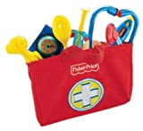 Mattel Fisher-Price L6556 - Brilliant Basics Medical Kit, Arzttasche
