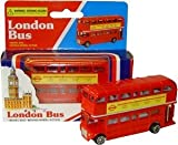 London Rot Bus (klein) – Doppeldecker Rot Busmodell aus Diecast Metall und Kunststoffteile