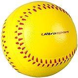 Ultrasport Softball aus Schaumstoff, vielseitig einsetzbar als Antistressball, Fitnessball,...