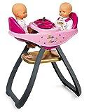 Smoby 220315 - Baby Nurse Zwillingspuppen-Hochstuhl