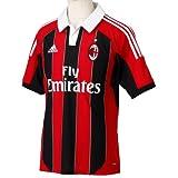 adidas Fußballtrikot AC Milan, schwarz/rot, S, 380100000242