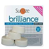 Sunzze Brilliance 500gr, 4 Blöcke je 125gr, Brazilian waxing, Intimenthaarung Hardwachs auch für...