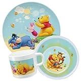 Kinder-Geschirr-Set 3-tlg. Disney Winnie Pooh