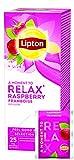 Lipton Früchtetee Hagebutte Himbeere (fruchtig und herb mit Hibiskusblüten) 3er Pack (3 x 25...