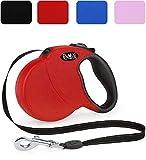 DDOXX Roll-Leine reflektierend in vielen Farben & Größen für kleine, mittlere, mittelgroße &...