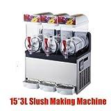 gr-tech Instrument® kommerziellen 3Tank Frozen Drink Slush Slushy, die sich Maschine Smoothie...