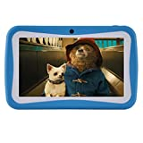 Kinder Tablet PC 7 Zoll, HD Display 512MB RAM Und 8G ROM-Speicher Android Quad Core Tablet für Kids...