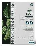 FitFoot Hornhaut Entfernung Hornhautentferner Hornhaut Socken Hornhautsocken Fuß Peeling Foot File...