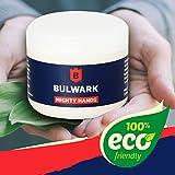 Hautpflege für hart arbeitende Hände - Mighty Hands von Bulwark 100% natürliche Handcreme für...