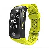 Herzfrequenz Fitness Tracker Sport Armband Smartwatch integrierte atmungsaktiv Anti-Schweiß LED...