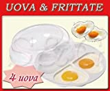 NOVITA ': Behälter Eierkocher für Mikrowelle Omelettpfanne in Herzform