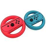 KEESIN Joy-Con Lenkrad Kompatibel mit Nintendo Switch Controller 2 Packung Remote Dock Wheel...