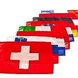 MARE MOSSO Gastlandflagge nautische Flagge Bootsflagge Länderflagge Fahne, Land:Spanien;Maße:20 x...