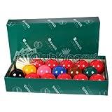 Snookerkugeln Aramith, 17 Kugeln, 4,9cm