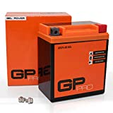 GP-PRO GTX7L-BS 12V 6Ah Gel-Batterie (Ähnlich YTX7L-BS / CTX7L-BS) (Wartungsfrei / Versiegelt)...