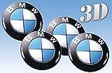 Rad-Aufkleber Emblem BMW Größe (60mm.)