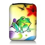 Luxburg® Design Tasche Hülle Sleeve Etui für eBook Reader und Tablet PC bis 7 Zoll, Motiv: Bunter...