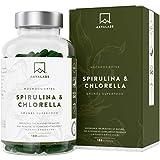 Spirulina Chlorella Kapseln [ 1800 mg ] 180 Stück von Aava Labs - Eine Mischung von hochwertigen...