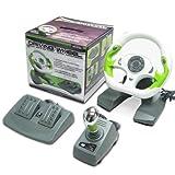 Xbox 360 - Driving Wheel / Lenkrad mit Pedalen