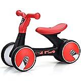 COSTWAY Baby Laufrad Rutscherfahrzeug Kleinkind Laufrad 4 Rädern Kinder Balance Bikes Spielzeug...