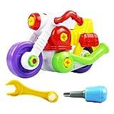 Spielzeugauto Oyedens Kinder Demontage Montage Cartoon Motorrad Spielzeug Weihnachtsgeschenk