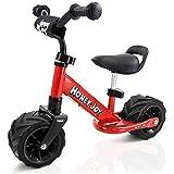 COSTWAY Laufrad Kinderlaufrad Kinder Fahrrad Lauflernrad Lernlaufrad Lauflernhilfe 66 x 38 x 55cm...