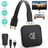 TedGem WiFi-Display-Dongle, WiFi Display Dongle 5G/2.4G, WiFi Display 1080P HD, Dongle HDMI für...