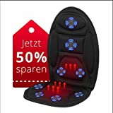 EvoFit RANG #1 in Massageauflagen mit Wärmefunktion für Auto | Vibrationsmassage | Sitzheizung |...