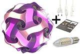 Puzzle Lampe DIY Kugellampe Stehlampe Nachttischlampe Deco Leuchte Moderne Designer Lampe...
