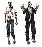 erdbeerparty - Halloween Dekoration Party blutige Zombies 2 Stück, 150cm, Mehrfarbig