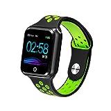 WAFA Fitness Armband mit Pulsmesser Blutdruck, Wasserdicht IP67 Fitness Tracker Smartwatch...