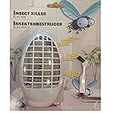 Mückenstecker Mückenschutz elektrisch mit 3 LED's inkl. Reinigungsbürste Insektenschutz...