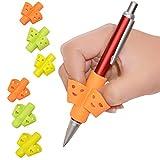 Guwheat Bleistift Griffe New Smile Design für Kinder Handschrift Haltungskorrektur, Silikon...