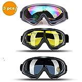 JTENG Skibrille Schutzbrille Motocross Goggle Sportbrille Schneebrille Wintersport Brille Winddicht...