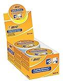 BIC Fingeranfeuchter Fingertip, 20 ml, Displaybox à 6 Stück,  weiß/orange