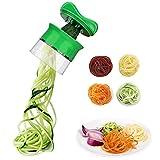 Spiralschneider Hand für Gemüsespaghetti, Ancare Gemüsehobel für Karotte, Gurke,...