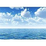 Vlies Fototapete 400x280 cm PREMIUM PLUS Wand Foto Tapete Wand Bild Vliestapete - Ozean Meer Wasser...