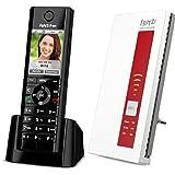 Set AVM FRITZ!Fon C5 DECT-Komforttelefon + AVM FRITZ!WLAN Repeater 1750E