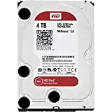 WD Red 4TB interne Festplatte SATA 6Gb/s 64MB interner Speicher (Cache) 8,9 cm 3,5 Zoll 24x7 5400Rpm...