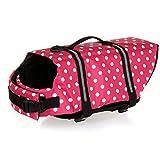 REXSONN® Schwimmhilfe für Hunde Hunde-Schwimmweste Hund Hundeweste Wassersport Schwimmweste...