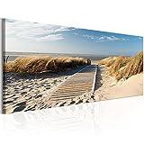 murando Bilder 135x45 cm - Leinwandbilder - Fertig Aufgespannt - Vlies Leinwand - 1 Teilig -...